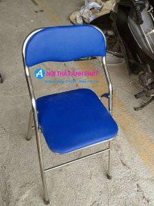 Thanh lý 300 chiếc ghế gấp hòa phát