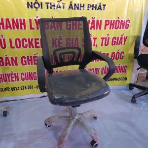 Thanh lý ghế lưới lưng đệm LGX65