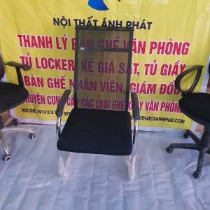 Thanh lý ghế chân quỳ lưới đệm lưng cao nhập khẩu CQDL001