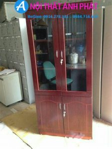 Thanh lý tủ sơn PU giám đốc cao 2mx80cm