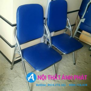 Thanh lý chân ghế gấp lưng hòa phát tồn kho mới 95%