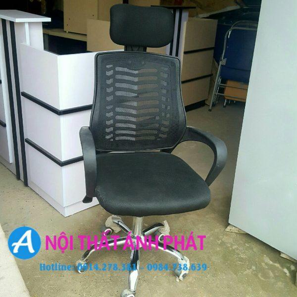 thanh lý ghế lưới gối đầu nhập khẩu mới