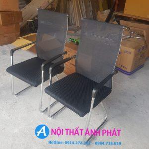 Thanh lý ghế chân quỳ đệm lưới QLD400 mới