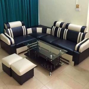 Sofa đen trắng sữa thanh lý chất lượng mức giá cực rẻ