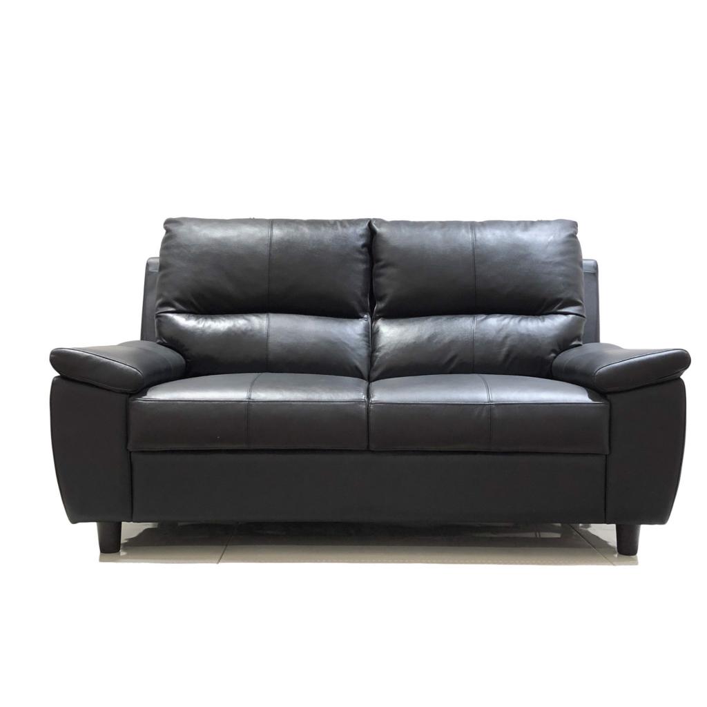 2. sofa nhật đen thanh lý