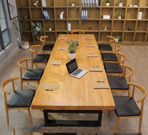 Chọn mua bàn họp 2m4mx1m2 BH160 giá rẻ ở đâu chất lượng tốt?