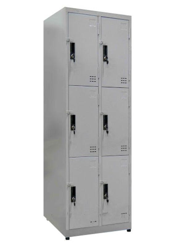 Tủ locker 6 ngăn tĩnh điện mới1