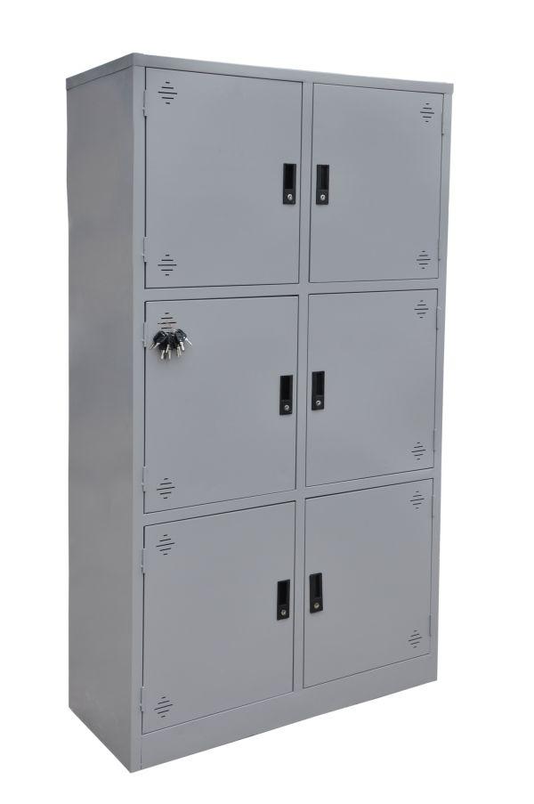 Tủ locker 6 ngăn tĩnh điện mới3