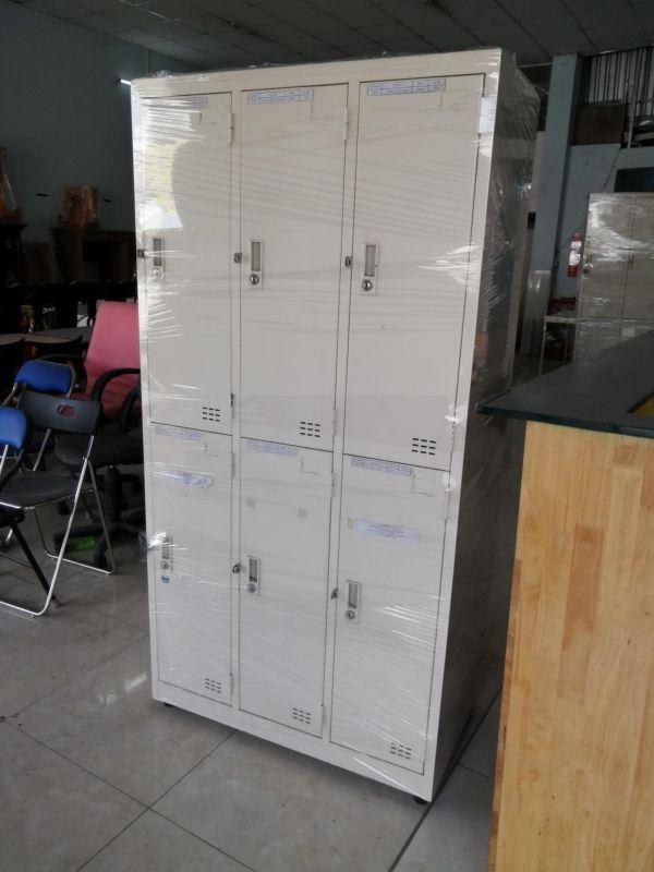 Tủ locker 6 ngăn tĩnh điện mới2
