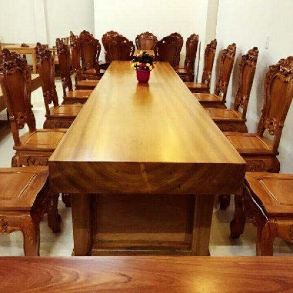 bàn họp gỗ tự nhiên3
