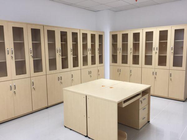 tủ gỗ đựng tài liệu nhiều ngăn1