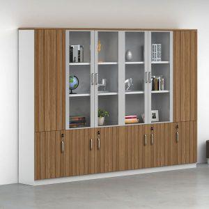 Tủ gỗ đựng tài liệu nhiều ngăn cao cấp