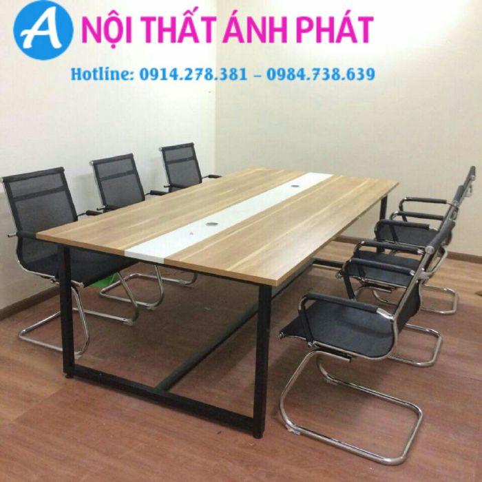 Mẫu bàn họp thiết kế kích thước tiêu chuẩn