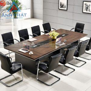 Top mẫu bàn ghế gỗ phòng họp giá rẻ hàng đầu