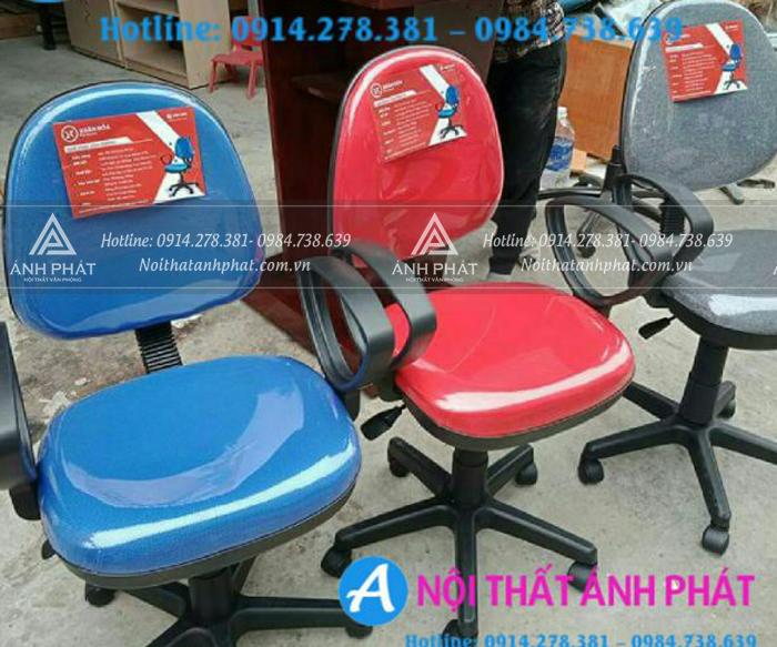 Ghế xoay nhân viên với đầy đủ màu sắc