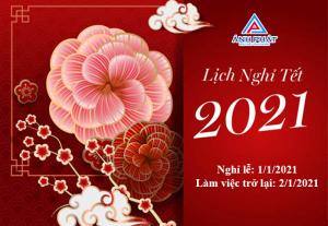Thông báo nghỉ lễ tết dương lịch 2021
