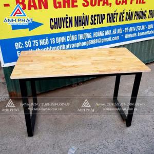 Bí quyết chọn lựa bàn làm việc chân sắt ở Hà Nội