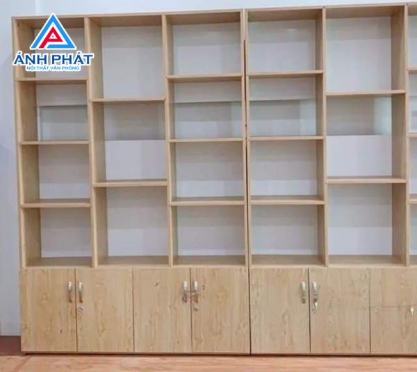 Tủ kệ hồ sơ văn phòng của Ánh Phát được làm từ những chất liệu gì ?
